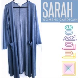 LuLaRoe SARAH Long Duster Cardigan, Medium (10-12)